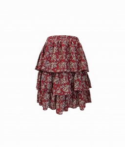 Skirt JOLIE SHORT CHERRY