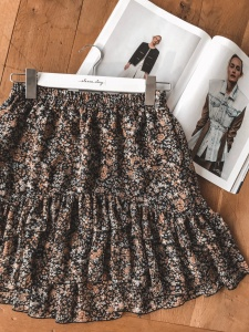 Skirt SISI SILK BLACK