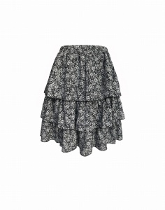 Skirt JOLIE SHORT AUTUMN BLACK