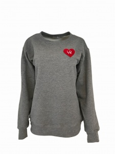 Bluza BASIC LOVE GREY