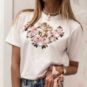 T-Shirt ANGEL ROSE