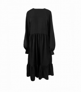 Dress LUCIE BLACK SALT (1)