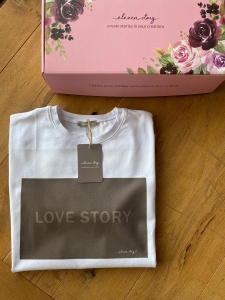 T-Shirt LOVE STORY CHOCOLATE